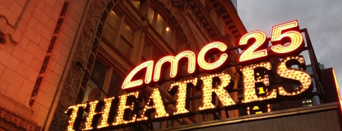 AMC Empire 25 is one of Locais curtidos por Steve.