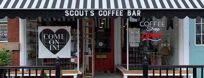 Scout's Coffee Bar & Merchantile is one of NJ Clinton-Bridgewater.