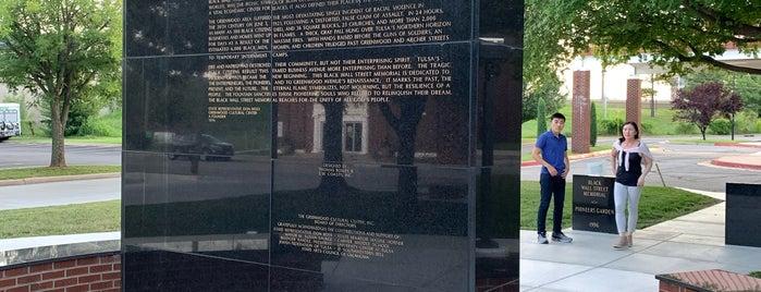 Black Wall Street Memorial is one of Oklahoma.
