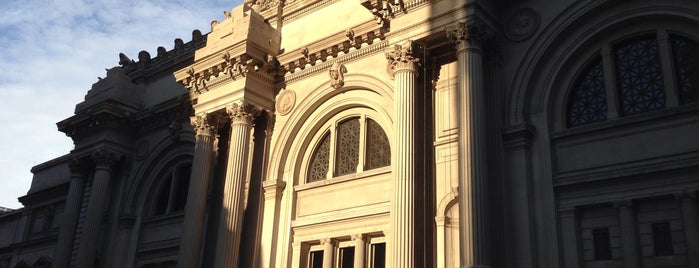 The Metropolitan Museum of Art is one of NYC Manhattan East 65th St+.