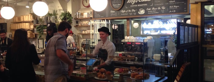 Toby's Estate Coffee is one of New York's Best Coffee Shops - Manhattan.