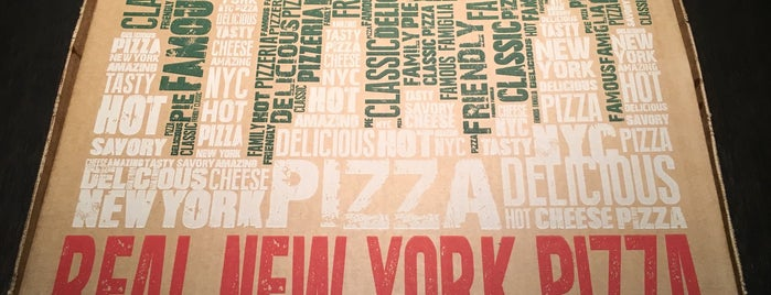 Famous Famiglia Pizza is one of MET.