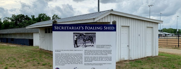 Birthplace of Secretariat is one of Equestrian.