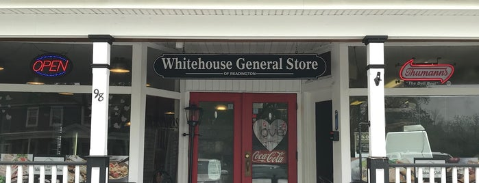 Whitehouse General Store is one of NJ Clinton-Bridgewater.