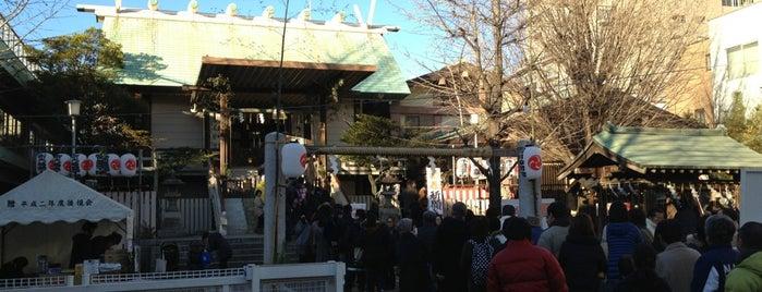 深川神明宮 is one of 神輿で訪れた場所-1.
