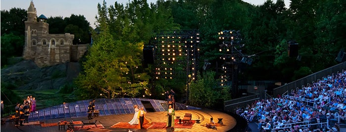 Delacorte Theater is one of 92 Days of Summer in NYC.