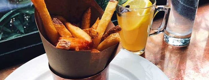 The Breslin Bar & Dining Room is one of The Absolute Best French Fries in NYC.