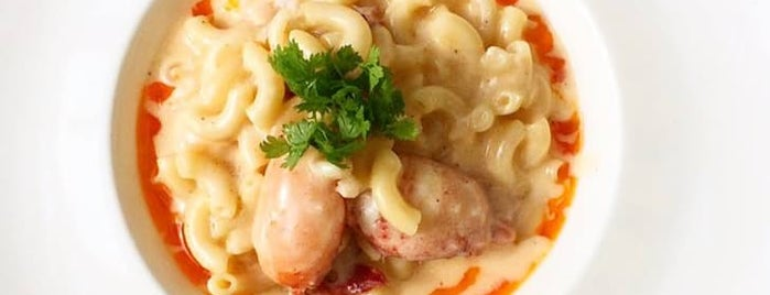 Mizuna is one of The Best Macaroni and Cheese in Every U.S. State.