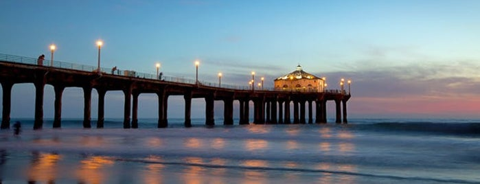 Manhattan Beach Pier is one of 9 Groovy L.A. Landmarks You Need to Know.