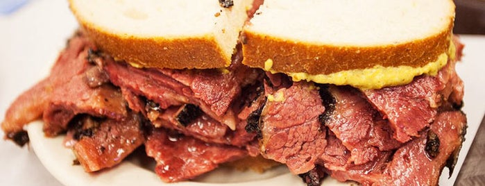 Katz's Delicatessen is one of NYC Visitor Recommendations.