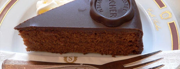 Hotel Sacher is one of 15 Treats All Dessert Lovers Need to Eat Once.