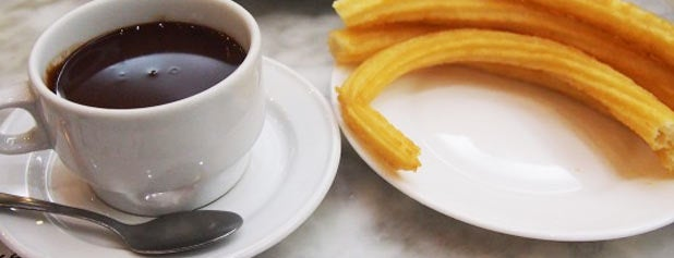 Chocolatería San Ginés is one of 15 Treats All Dessert Lovers Need to Eat Once.
