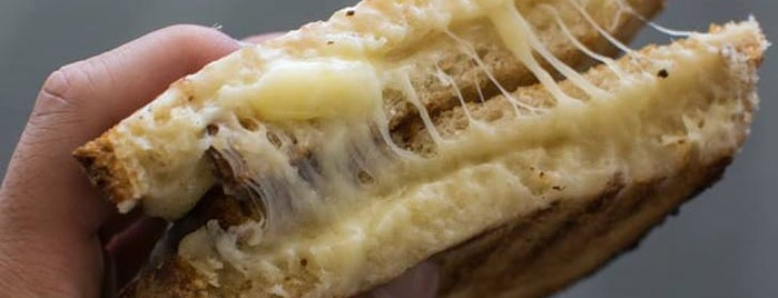 Beecher's Handmade Cheese is one of The Best Grilled Cheese in Every U.S. State.