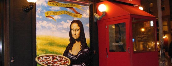 Lombardi's Coal Oven Pizza is one of NYC Restaurants to Put on Your Bucket List.