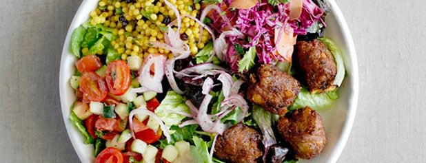 Roti Modern Mediterranean is one of The Best Healthy, Fast Lunches in NYC.
