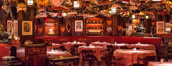21 Club is one of NYC Restaurants to Put on Your Bucket List.