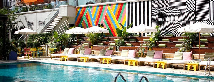 McCarren Hotel & Pool is one of NYC things to do.