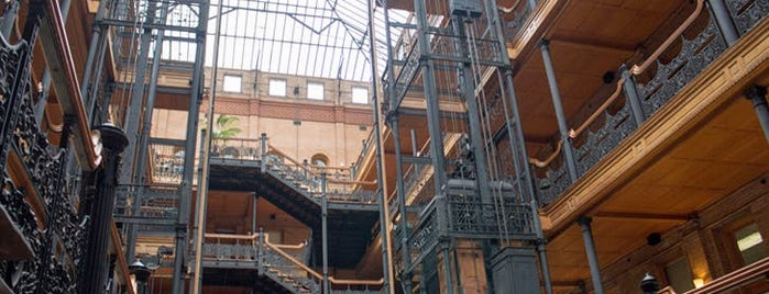 Bradbury Building is one of 9 Groovy L.A. Landmarks You Need to Know.