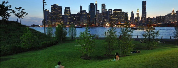 Brooklyn Bridge Park is one of 92 Days of Summer in NYC.