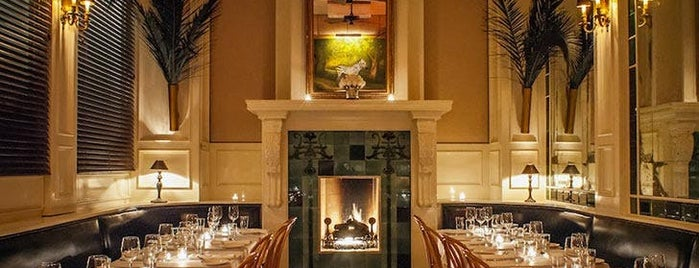 The Beatrice Inn is one of 8 Cozy Places to Sip a Cocktail by a Fireplace.