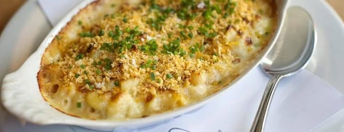 Little Bird Bistro is one of The Best Macaroni and Cheese in Every U.S. State.