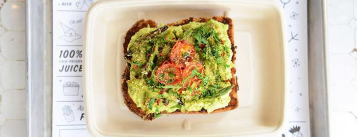 by CHLOE. is one of The Best Avocado Toast in NYC, Ranked.