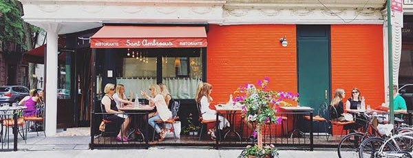 6 NYC Places with Great Food and People Watching