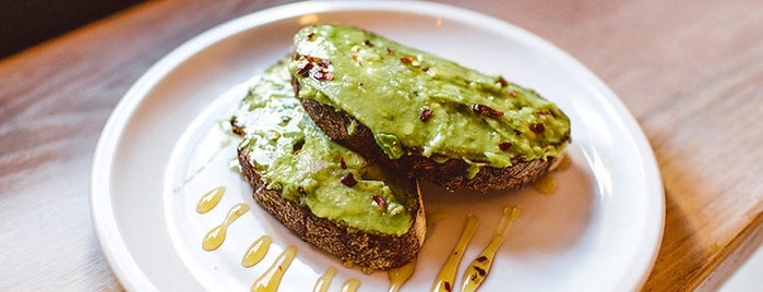 Blank Slate Coffee + Kitchen is one of The Best Avocado Toast in NYC, Ranked.