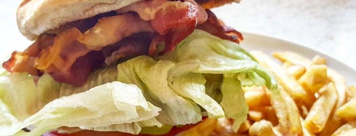 Corner Bistro is one of NYC burgers.