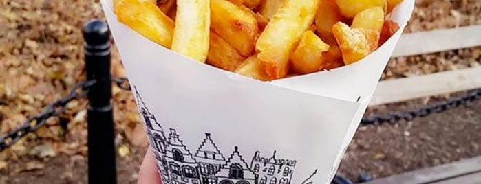 Pommes Frites is one of NYC.