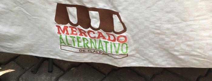 Mercado Alternativo de Tlalpan is one of Top 100.
