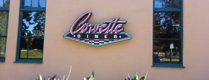 Corvette Diner is one of Foodie Finds.