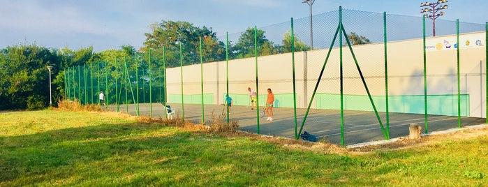 Тенис кортове в Морската is one of Bulgaria.