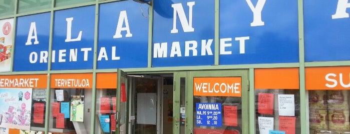 Alanya Oriental Market is one of Helsinki 2021.