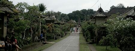Penglipuran Agro Tourism is one of Enjoy Bali Ubud.