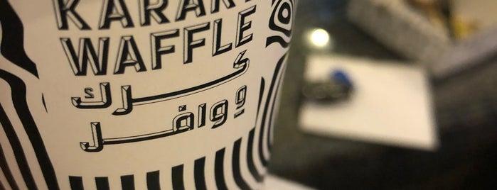 Karak & Waffle is one of Asma: сохраненные места.
