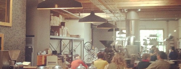 Four Barrel Coffee is one of SF.