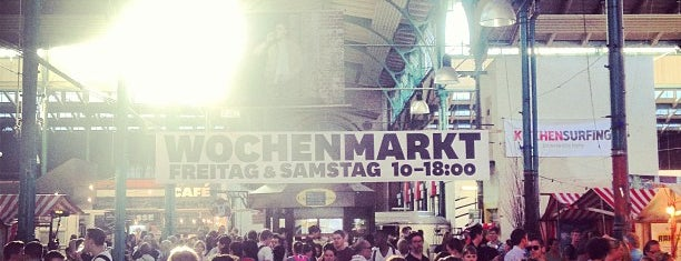 Markthalle Neun is one of Berlin Restaurants and Cafés.