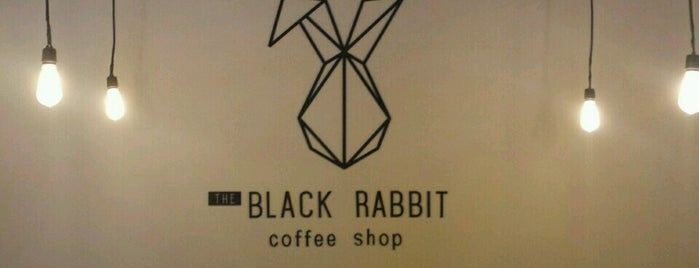 the black rabbit coffee shop is one of Srta. Miranda'nın Beğendiği Mekanlar.