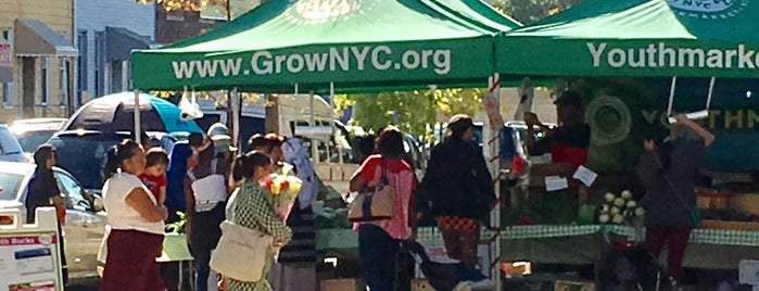 Cypress Hill Youthmarket is one of NYC Health: NYC Farmers' Markets.