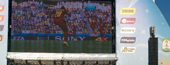 FIFA Fan Fest is one of Tempat yang Disimpan JRA.