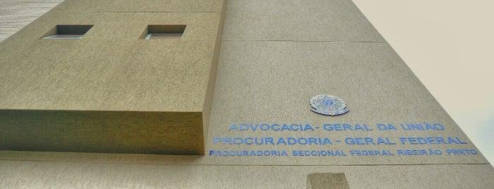 Procuradoria Geral Federal - Seccional de Ribeirão Preto is one of สถานที่ที่ Carlos ถูกใจ.