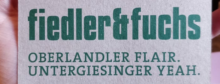 Fiedler & Fuchs is one of Essen.