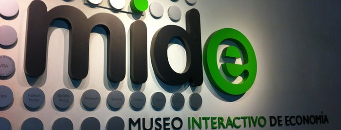 MIDE, Museo Interactivo de Economía is one of Paco : понравившиеся места.