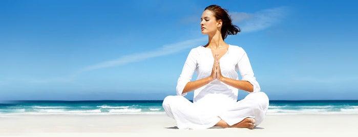 Bikram Yoga Raleigh is one of Tempat yang Disukai John.