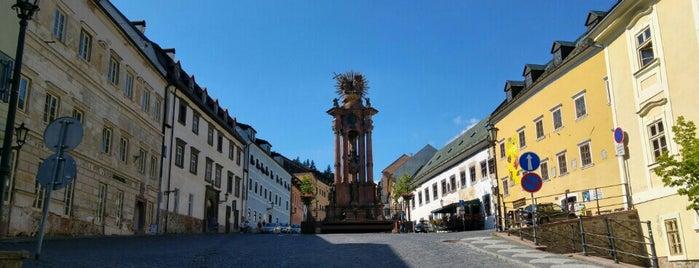 Banská Štiavnica is one of UNESCO World Heritage Sites in Eastern Europe.