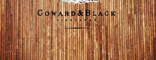 Coward and Black Winery is one of Perth.
