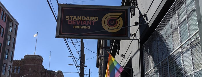 Standard Deviant Brewing is one of San Fran.