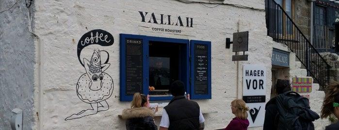 Yallah Coffee Roasters is one of Cornwall.