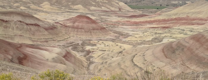 Painted Hills is one of CBS Sunday Morning.